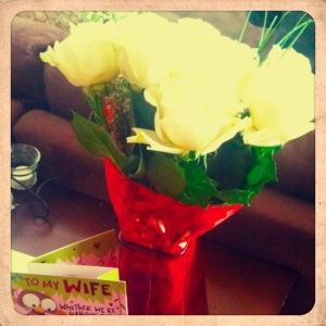 Valentine Flowers 2013